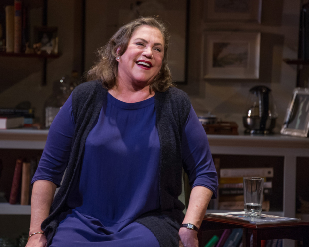 Kathleen Turner as Joan Didion in The Year of Magical Thinking, directed by Gaye Taylor Upchurch, at Arena Stage.