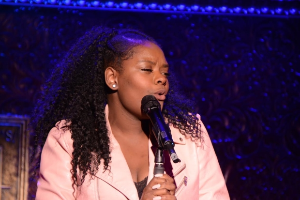 Shanice Williams takes the stage at the Best in Shows concert.