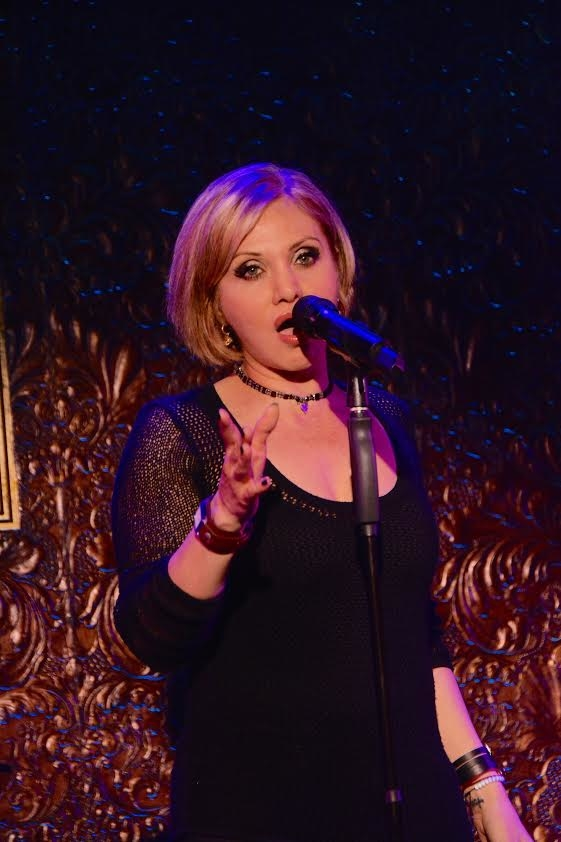 Orfeh performs in the benefit for the Humance Society of New York.