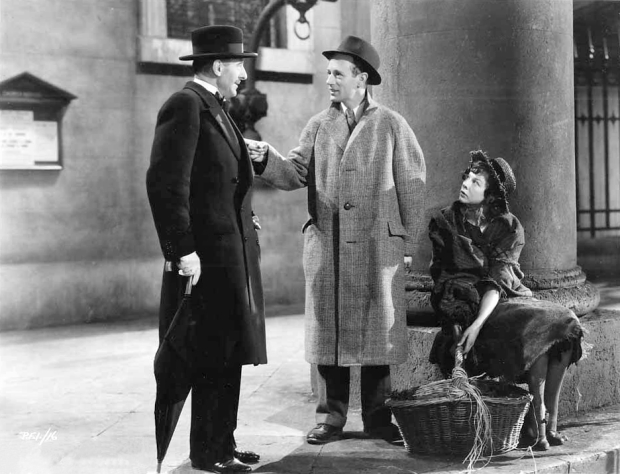 Pygmalion is perhaps Shaw's most famous play, being the source of the musical My Fair Lady. He won a Best Writing Oscar for his screen adaptation, which starred Scott Sunderland, Leslie Howard and Wendy Hiller (seen above).