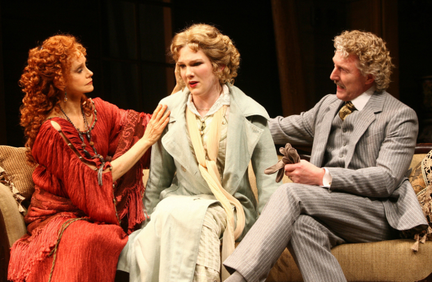 Though Shaw's plays have fallen out of fashion, some production companies, such as New York's Roundabout, keep them in their repertoire. Above: Swoosie Kurtz, Lily Rabe, and Byron Jennings in Roundabout's well-received 2006 production of Heartbreak House, for which Kurtz earned a Tony nomination.