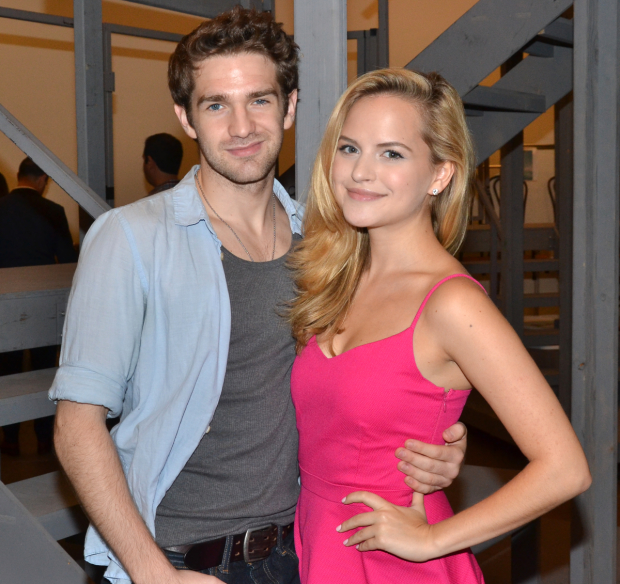 Dan DeLuca and Stephanie Styles will take part in The Newsboys Variety Show at Feinstein's/54 Below.
