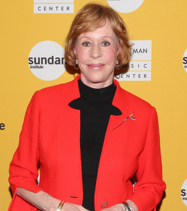 Carol Burnett would take on the role of Mae Peterson.