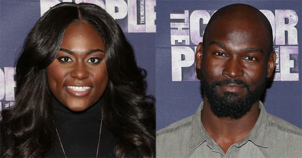 Danielle Brooks and Isaiah Johnson play their final performances in The Color Purple today.