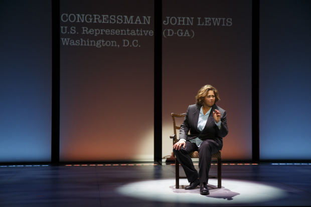 Anna Deavere Smith plays Congressman John Lewis in Notes From the Field.