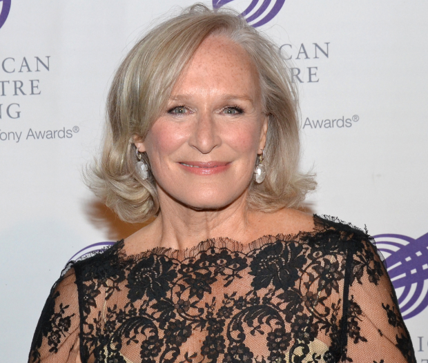 Glenn Close will be honored at Theater Forward's 2017 Chairman's Awards Gala.