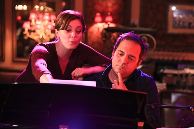 Rachel Bloom and Adam Schlesinger go over songs from TV's Crazy Ex-Girlfriend.