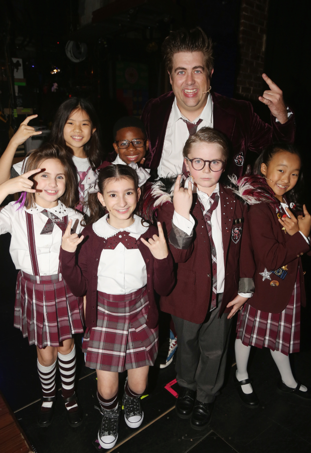 Rock on, new cast of School of Rock!
