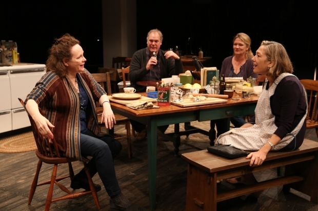 A scene from Women of a Certain Age, the third play in Richard Nelson's The Gabriels trilogy.
