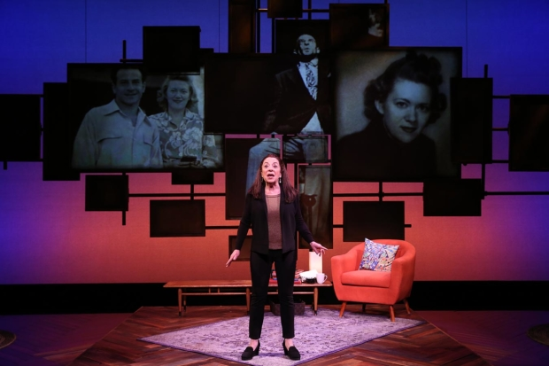 Monica Piper introduces her family tree in  Not That Jewish at New World Stages.