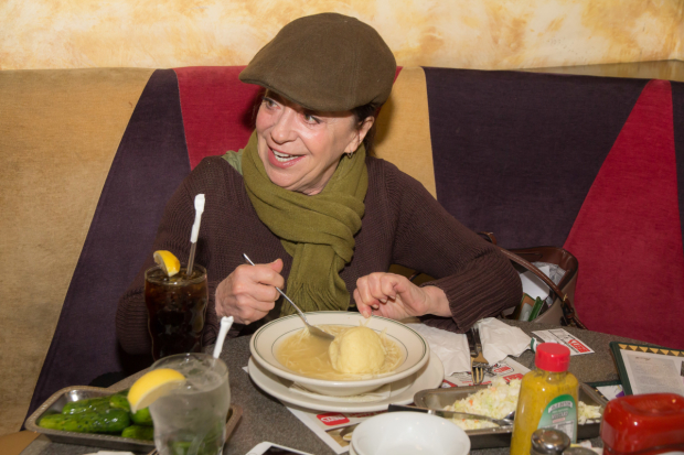 Piper recounts the family stories that became Not That Jewish over a bowl of matzo ball soup.