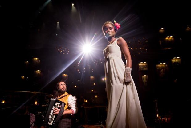 Josh Groban and Denée Benton star in Dave Malloy's Natasha, Pierre & The Great Comet of 1812, directed by Rachel Chavkin, at Broadway's Imperial Theatre.