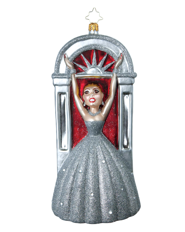 Broadway Cares/Equity Fights AIDS' Broadway Legends Patti LuPone ornament.