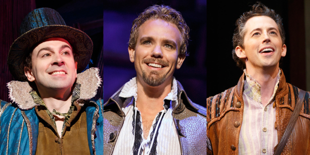 Rob McClure, Adam Pascal, and Josh Grisetti will star in the Something Rotten! tour.