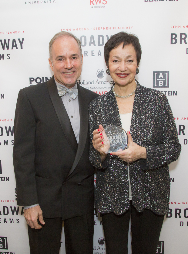 Stephen Flaherty and Lynn Ahrens are the honorees at the 2016 Broadway Dreams gala.