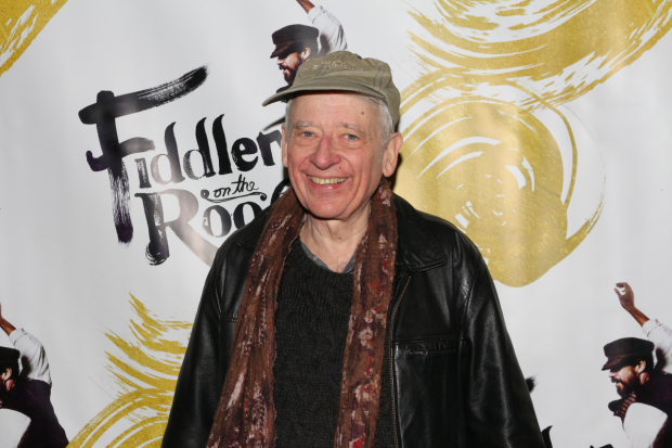 Austin Pendleton, who originated the role of Motel, attended the opening night of the Broadway revival of Fiddler on the Roof.