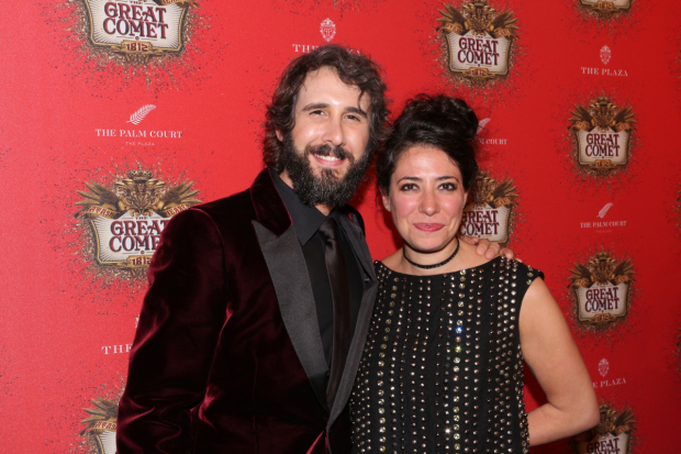 Josh Groban stars in Natasha, Pierre, and The Great Comet of 1812, which is directed by Rachel Chavkin.