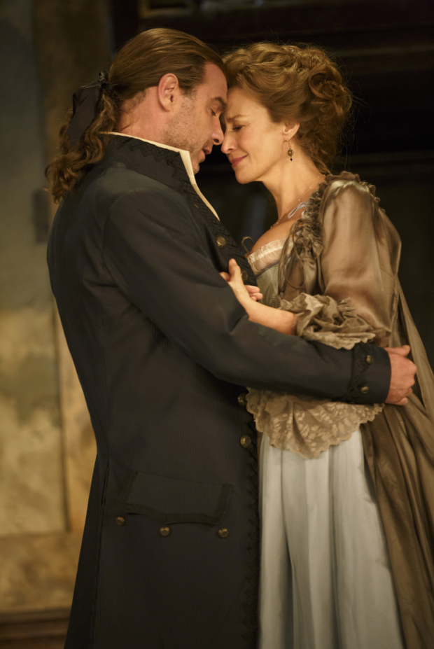 Liev Schreiber and Janet McTeer star Les Liaisons Dangereuses at the Booth Theatre.