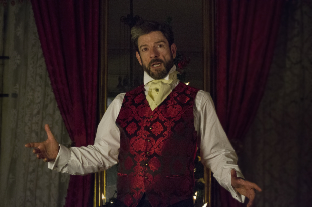 John Kevin Jones stars in A Christmas Carol at the Merchant's House Museum.