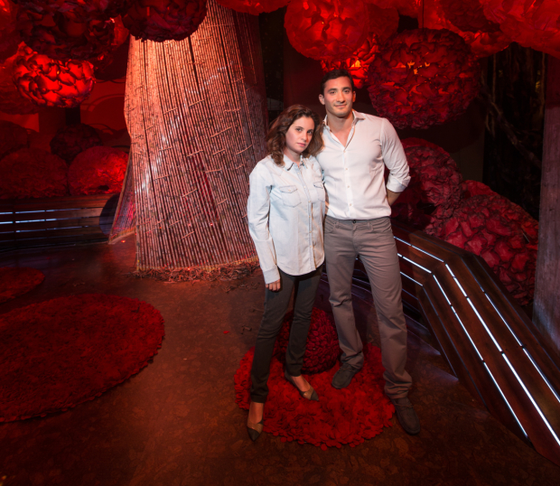 Rania and Rami Ajami are the sibling cocreators of the immersive children's production Pip's Island.
