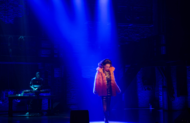 Andra Day soaks up the spotlight at the Richard Rodgers Theatre.