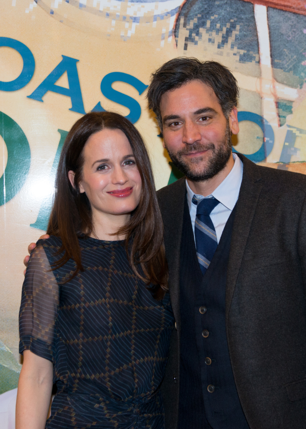 Elizabeth Reaser and Josh Radnor head the cast of The Babylon Line at Lincoln Center Theater.