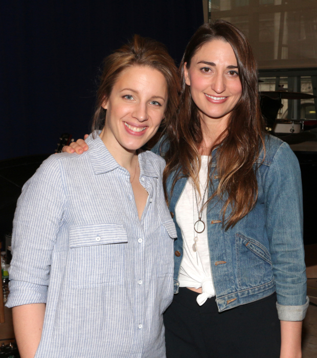 Jessie Mueller and Sara Bareilles are Grammy nominees for Waitress.