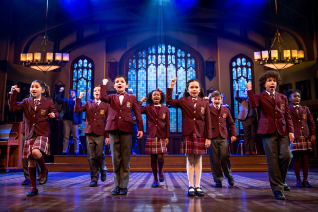School of Rock celebrates its first anniversary on Broadway.