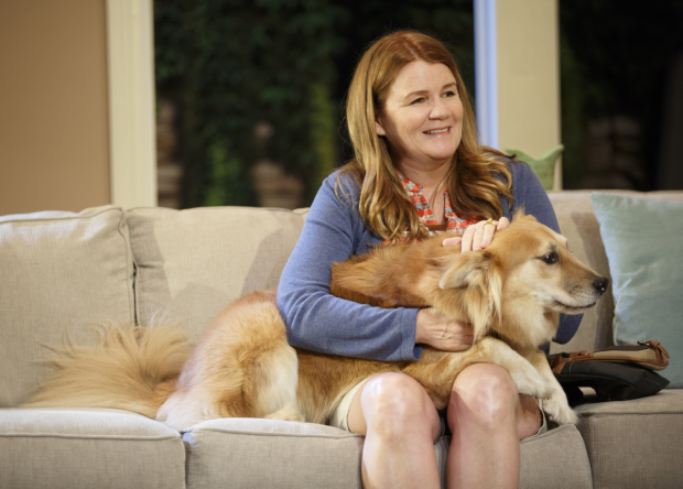 Mare Winningham and Marti the dog star in Rancho Viejo.