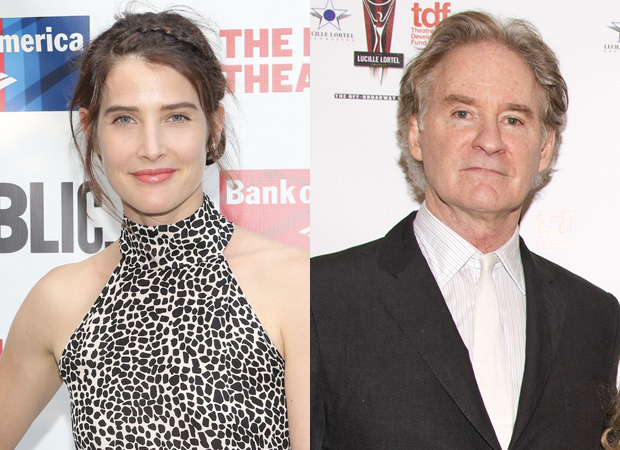 Cobie Smulders will join Kevin Kline as she makes her Broadway debut in Noël Coward's Present Laughter.