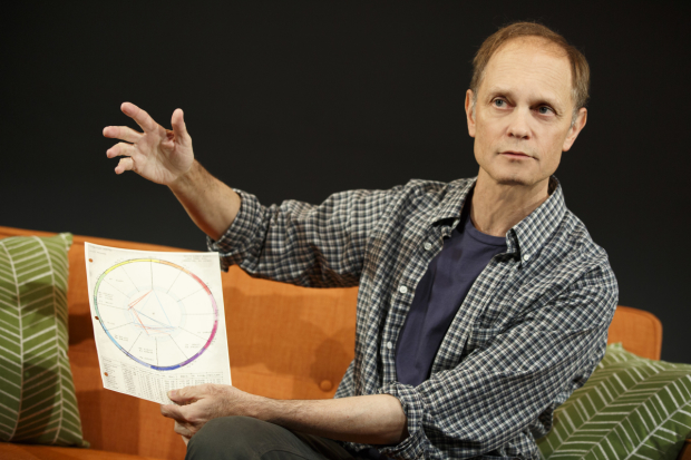 David Hyde Pierce in the Playwrights Horizons production of Adam Bock's A Life, directed by Anne Kauffman.