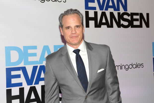 Michael Park stars on Broadway as Larry Murphy in Dear Evan Hansen.