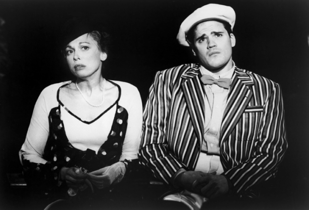 Carolee Carmello and Michael Park in Hello Again at Lincoln Center Theater in 1993. The pair would reteam for Tuck Everlasting in 2016.