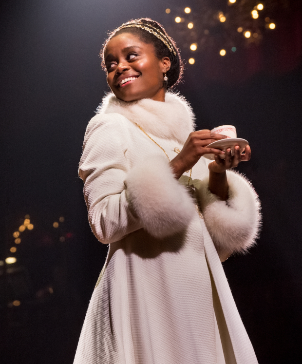 Denée Benton as Natasha in Natasha, Pierre and the Great Comet of 1812 at the Imperial Theatre.