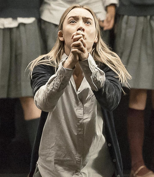 Saoirse Ronan as Abigail Williams in Arthur Miller's The Crucible at the Walter Kerr Theatre.