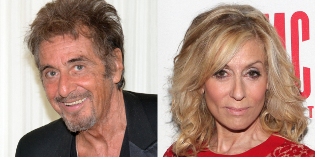 Al Pacino and Judith Light will share the stage in God Looked Away.