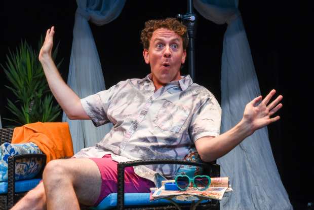 Drew Droege plays Gerry in Bright Colors and Bold Patterns.