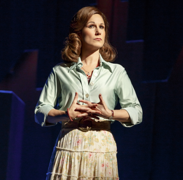 Stephanie J. Block as Trina in the new Broadway revival of Falsettos.