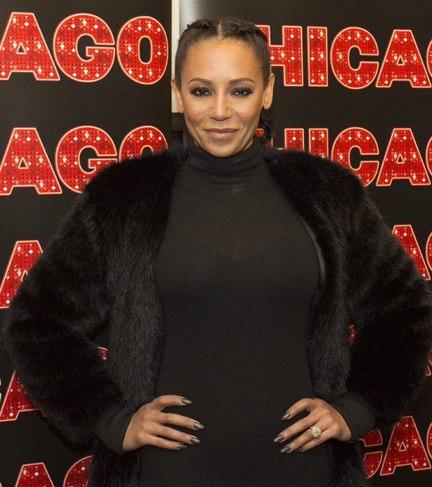 Mel B, a.k.a. Scary Spice of the Spice Girls, gets ready to join Broadway's Chicago.