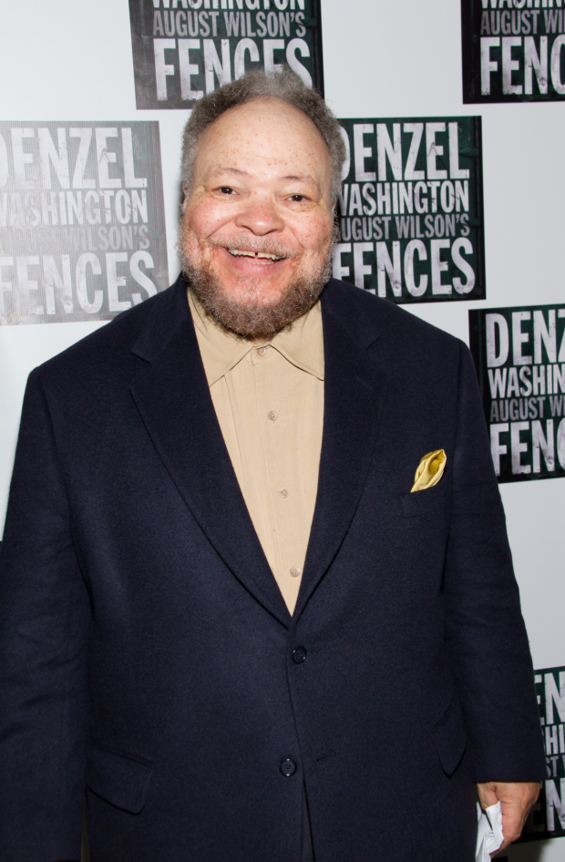 Stephen McKinley Henderson at the Broadway opening of August Wilson's Fences in 2010.