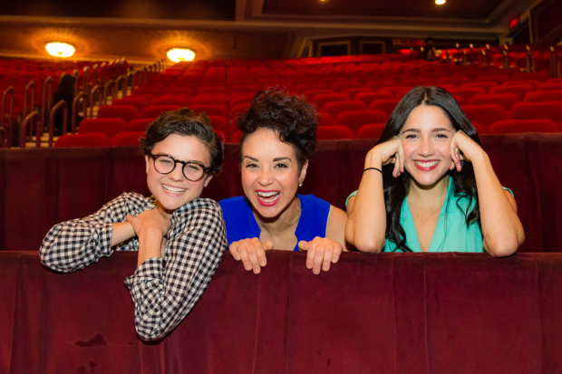 Broadway's Chava, Tzeitel, and Hodel played their first performance on November 20, 2015.