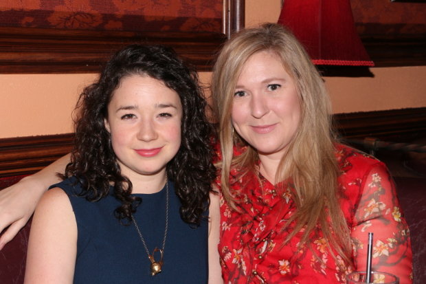 Sarah Steele and Cassie Beck play sisters in Stephen Karam's The Humans.