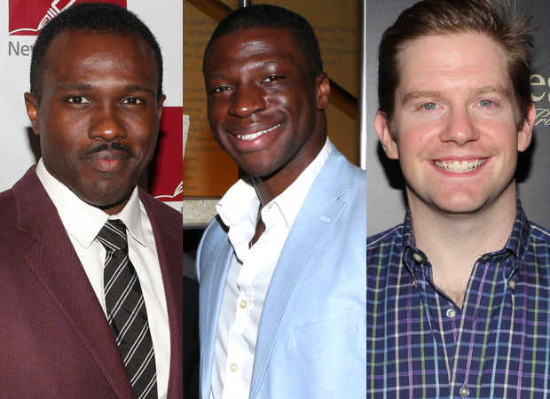 Joshua Henry, Michael Luwoye, and Rory O'Malley will lead the national tour of Hamilton.