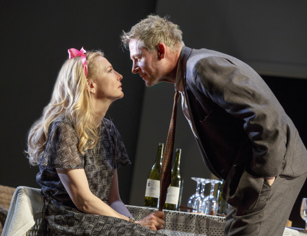 Cate Blanchett and Richard Roxburgh make their Broadway debuts in The Present at the Ethel Barrymore Theatre.