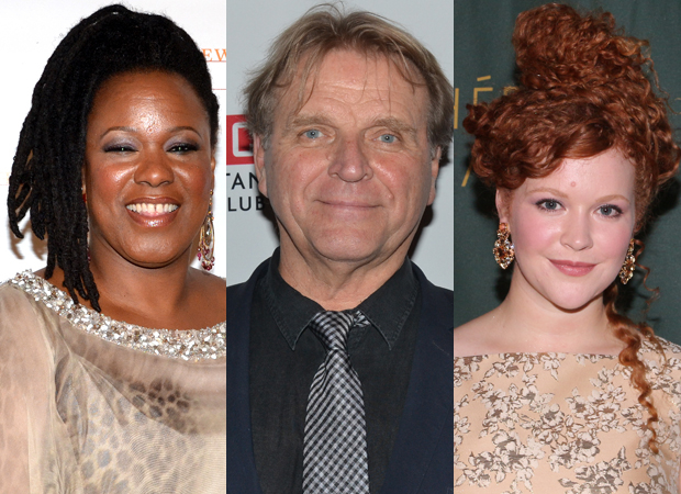 Kecia Lewis, David Rasche, and Mary Wiseman will star in The Skin of Our Teeth at the Polonsky Shakespeare Center.