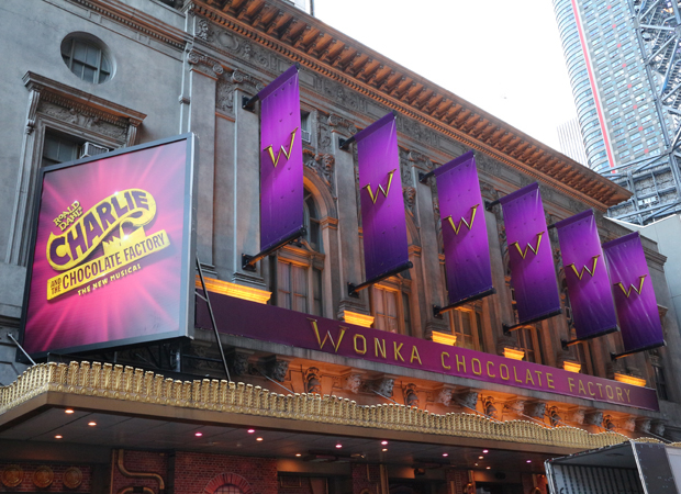 Willy Wonka's Chocolate Factory comes to life at the Lunt-Fontanne Theatre.