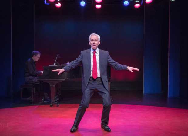Neal Mayer stars in the titular role of Mark Felt, Superstar, directed by Annette Jolles, at York Theatre Company.