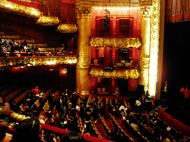The interior of The Colonial Theatre.