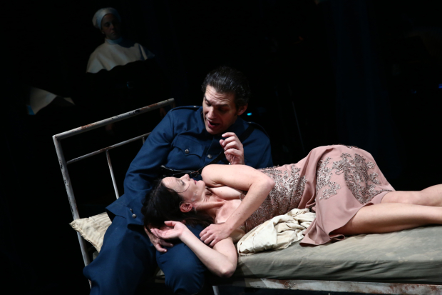 Tina Mitchell and Joshua Jeremiah star in Mata Hari.