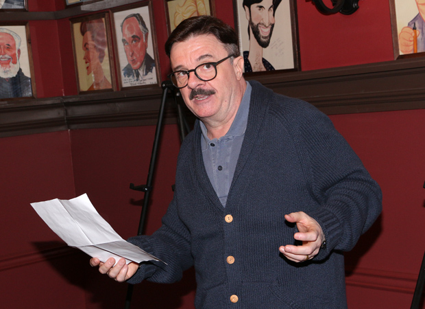 Nathan Lane serves as the event's emcee.